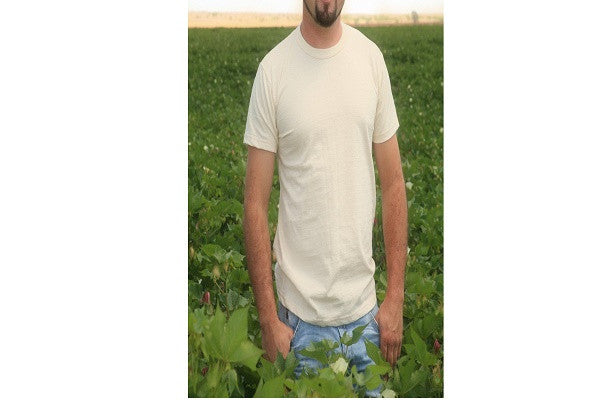 Men's Organic Cotton T-Shirt - SustainTheFuture.us - The Natural and Organic Way of Life