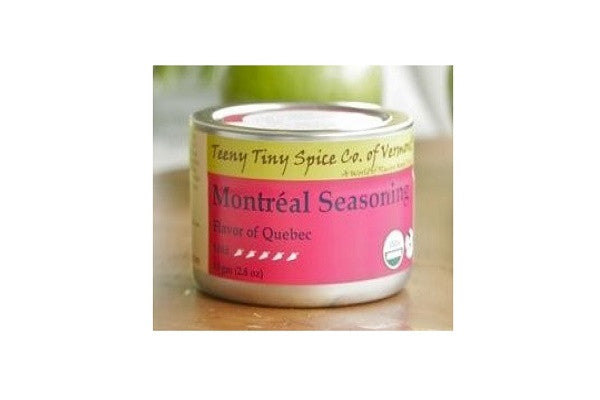 Montreal Seasoning: Flavor of Quebec (Teeny Tiny Spice Co. of Vermont) - SustainTheFuture.us - The Natural and Organic Way of Life
