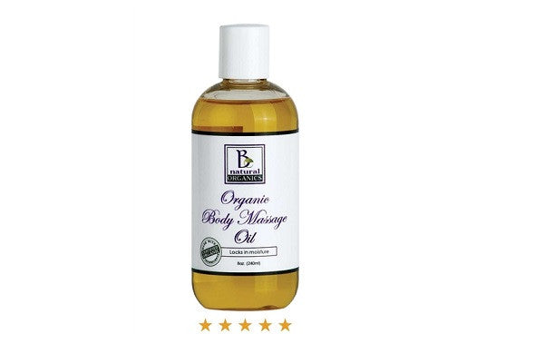 ORGANIC BODY MASSAGE OIL - Glides smoothly and is easily absorbed into the skin