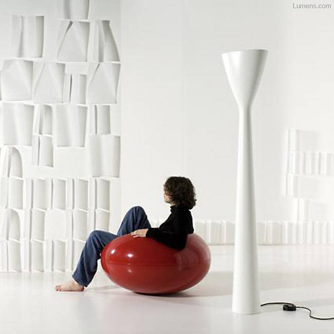 Carrara Floor Lamp By Alfredo Haberli for Luceplan