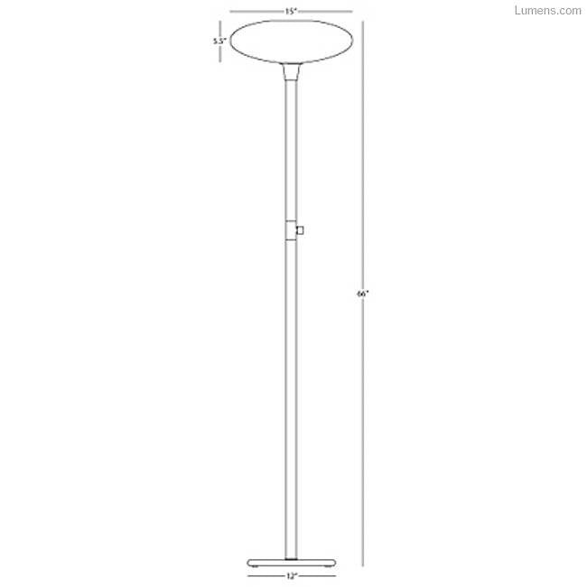 Ovo Floor Lamp By Rico Espinet for Robert Abbey