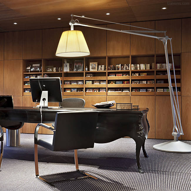 Superarchimoon Floor Lamp By Philippe Starck for FLOS