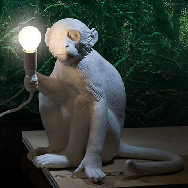 Monkey Lamp Collection By Seletti