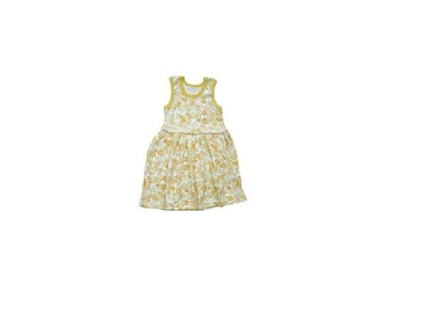 Organic Baby Clothes - Tropical Dress