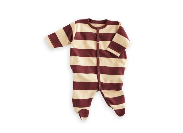 Organic Baby Clothes- Chocolate/Vanilla Footie