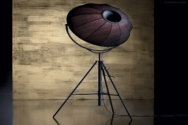 Fortuny Rubelli Petite Floor Lamp By Mariano Fortuny, Dominique Kieffer for Pallucco