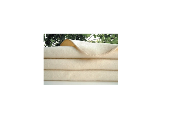 Organic Wool Blanket - Twin natural only 1 Left