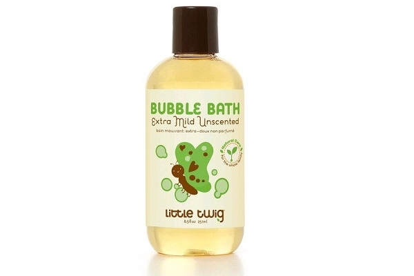 Little Twig Organics Bubble Bath - extra mild unscented 8.5 ounces