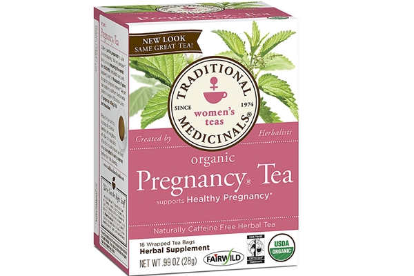 Organic Pregnancy Tea - A glowing tea that is full of life