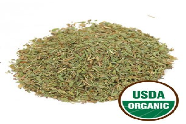 Thyme -  is a popular flavoring