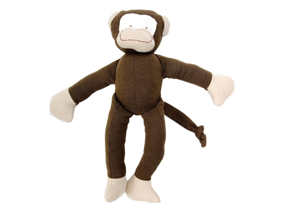 Organic Toy Monkey - Made with the finest 100% organic Egyptian cotton