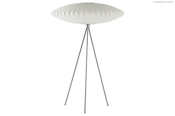 Equinox Tripod Floor Lamp By George Nelson for Herman Miller
