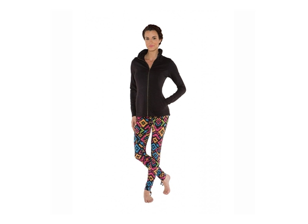 Organic Yoga Clothing - Jacket Black
