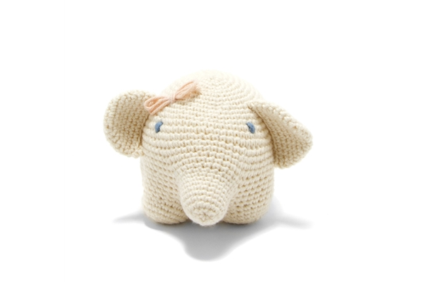 Organic Elephant Toy - is so soft and lovable
