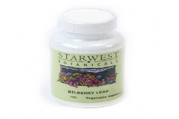 Bilberry Leaf Capsules - Made with Organic Herbs