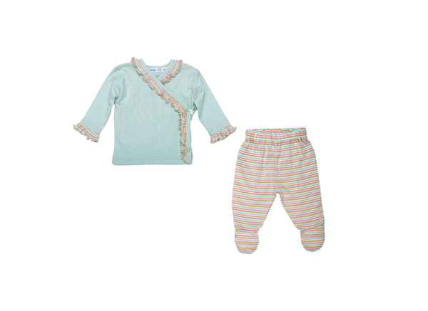 Organic Baby Clothes - Layette Set - Butterfly