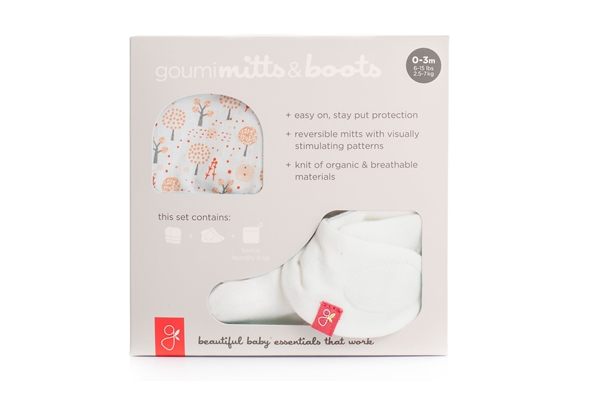 Organic Gift Set - Mits and Boots, Magical Woods