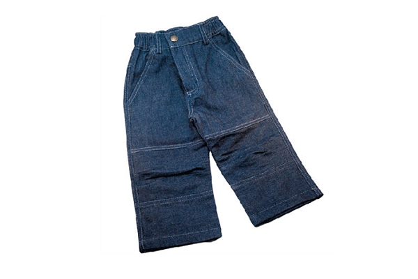 Organic Baby Blue Jeans - 100% GOTS certified organic cotton