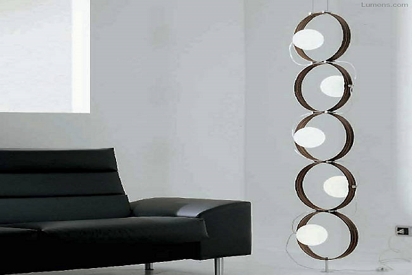 Giuko 5 Floor Lamp By Leucos Lighting
