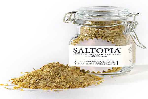 Rosemary Infused Sea Salt SALTOPIA