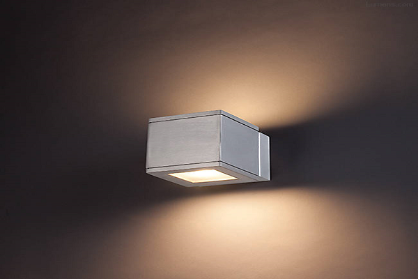 Rubix Outdoor LED Up and Down Wall Sconce By WAC Lighting