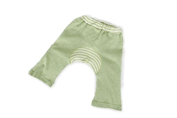 Organic Baby Clothes - Monkey Pant Sage
