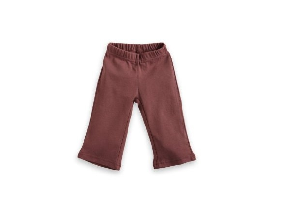 Organic Baby Pant - Yoga - Chocolate Brown