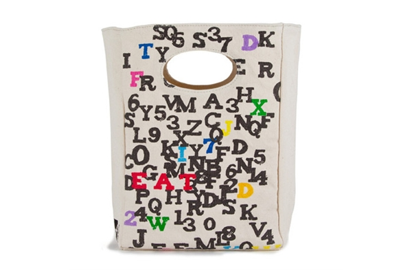 Fluf Lunch Bag - Organic ABC - SustainTheFuture.us - The Natural and Organic Way of Life