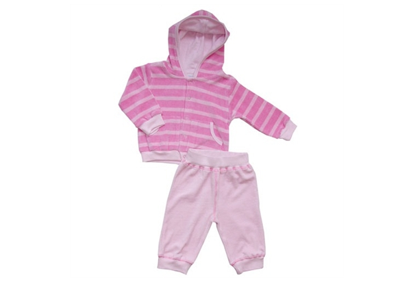 Organic 2 piece track suit - 100% GOTS Organic Cotton