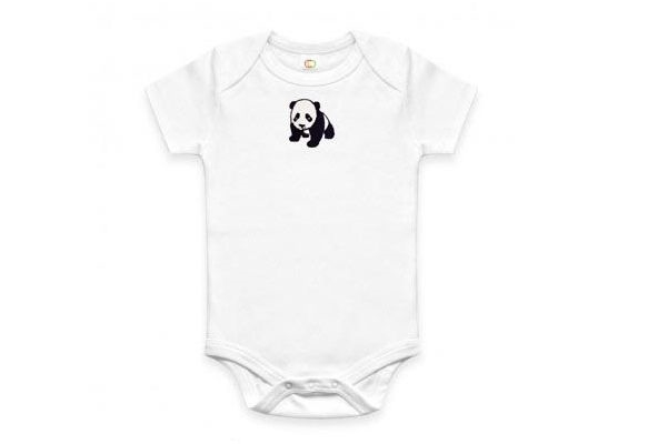 Just Cause Gifts That Give Back - Organic Panda Onesie