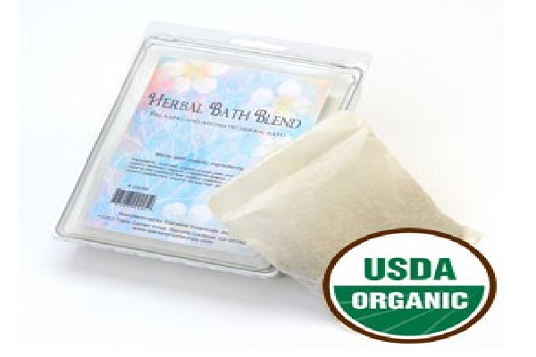 Herbal Bath Blend Bags Organic