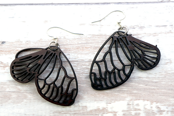 Coconut Butterfly Earrings. A must have for any nature lover.   - SustainTheFuture.us - The Natural and Organic Way of Life