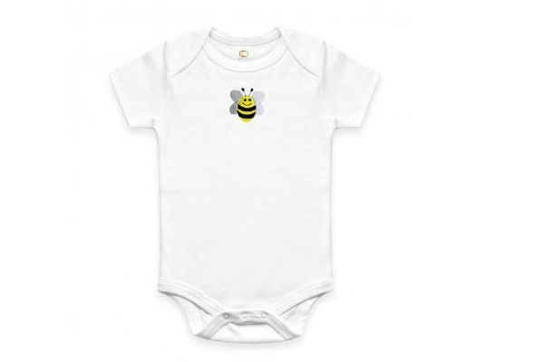 Just Cause Gifts That Give Back - Organic Bee Onesie