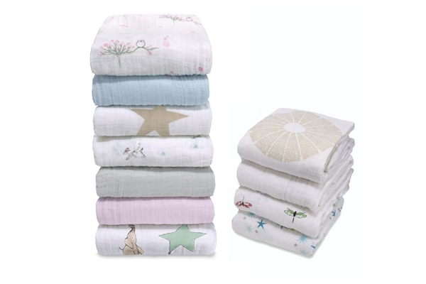 #2 Aden & Anais Organic Muslin Swaddle Blanket - SustainTheFuture.us - The Natural and Organic Way of Life