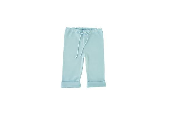 Organic Baby clothes -Blue Elf Pants