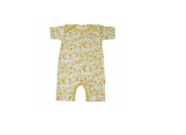 Organic Baby Clothes - Tropical Romper