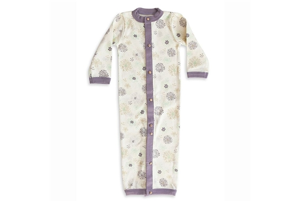 Convertible Baby Gown - Organic - SustainTheFuture.us - The Natural and Organic Way of Life