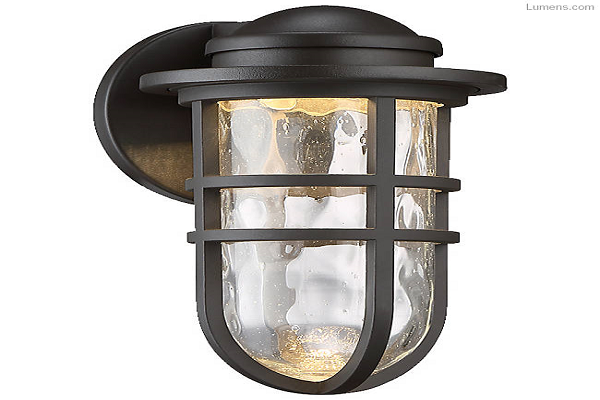 Steampunk dweLED Indoor/Outdoor Wall Sconce By WAC Lighting
