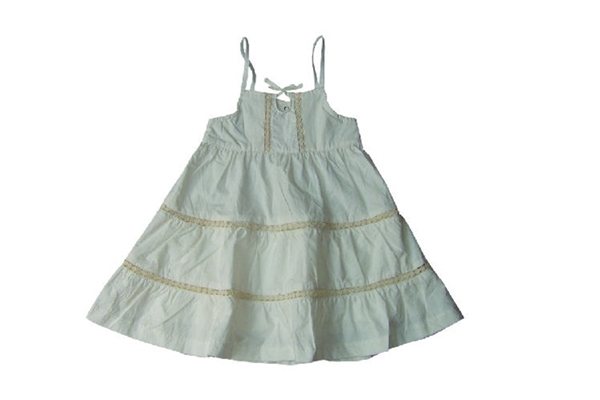 Organic Baby Clothes - Poplin Dress