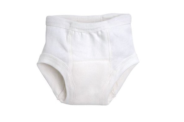 Organic Training Pant - White
