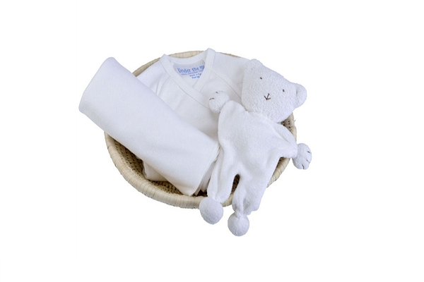 Organic Baby Gift Set - Off-White - Under the Nile
