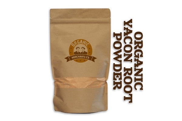 Organic Yacon Root Powder - 2lb Bag - Kosher, NON GMO, Gluten Free, Vegan