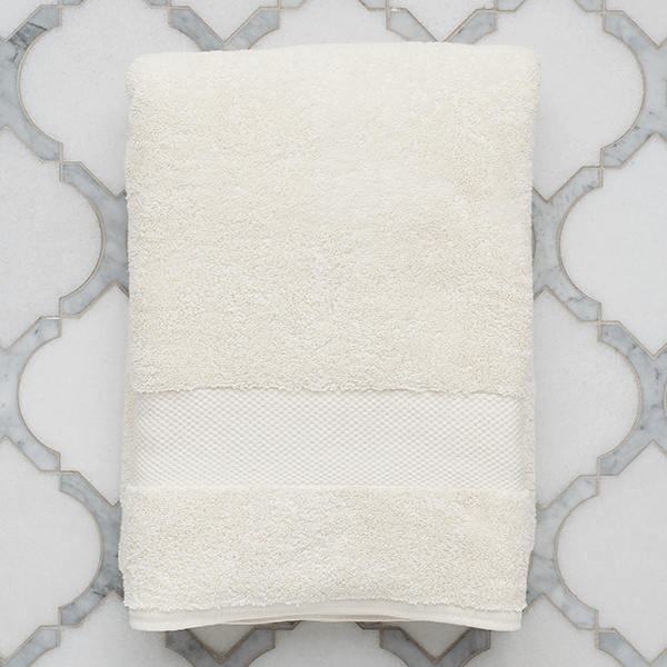 "Bath Towels 30""W x 58""L - Made with 100% certified organic cotton"