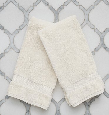Hand Towels (Pair) - Ring spun for optimal softness