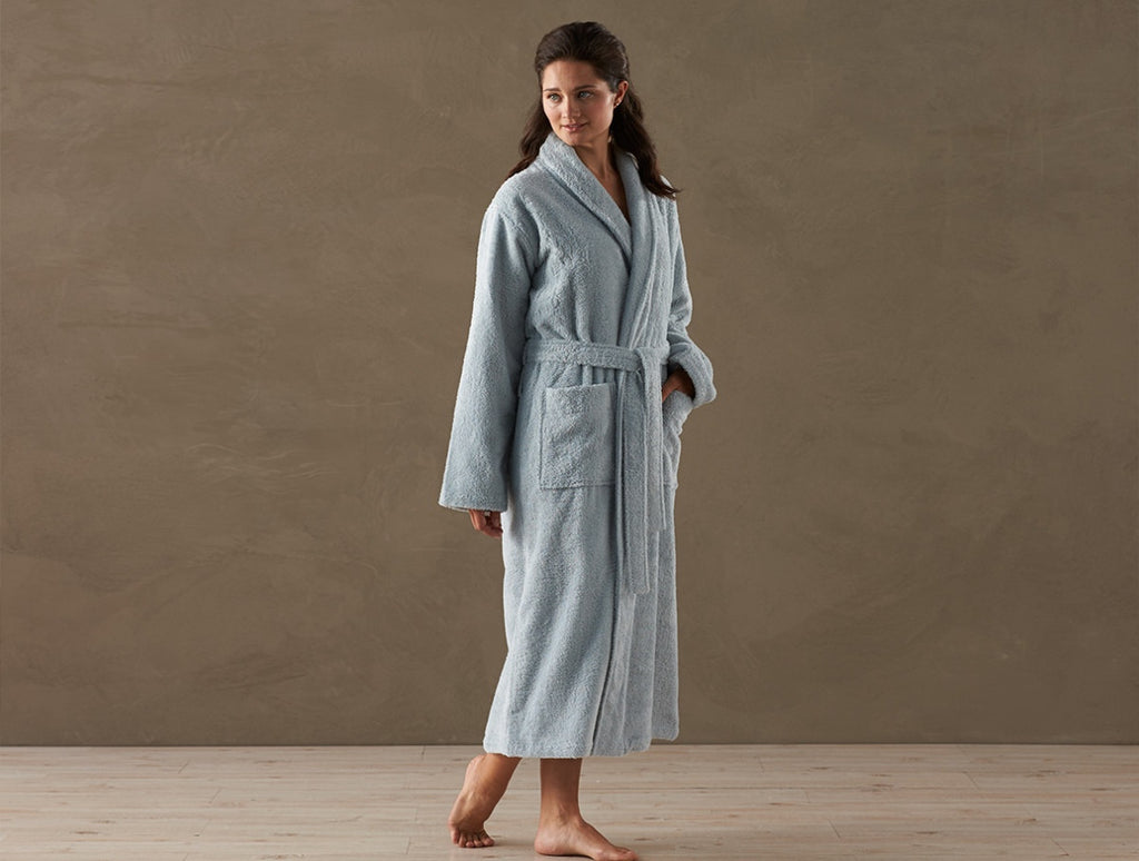 Unisex Cloud Loom Robe - organic cotton Cloud Loom towels.