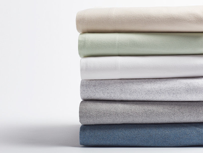 Cloud Brushed Flannel™ Sheets. Cozy comfort for long winter nights.