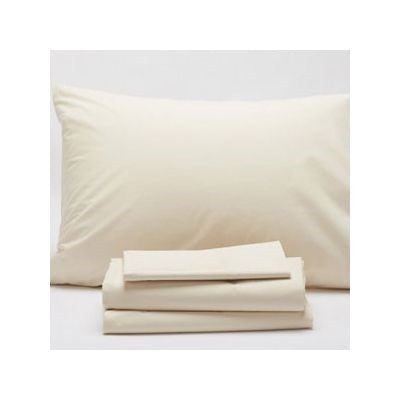 Organic Sateen Sheet Set - Assorted Colors and Sizes