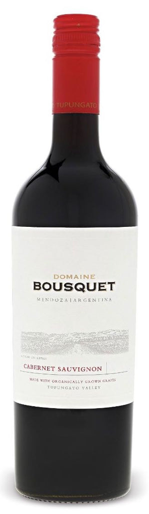 DOMAINE BOUSQUET CABERNET SAUVIGNON 2015 - SustainTheFuture.us - The Natural and Organic Way of Life