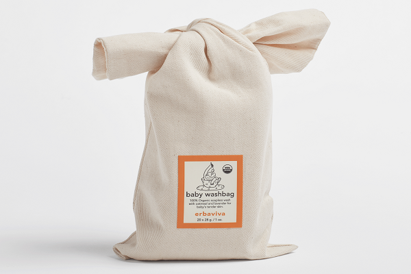 Erbaviva Baby Washbag Sachet - are filled with 100% organic. - SustainTheFuture.us - The Natural and Organic Way of Life