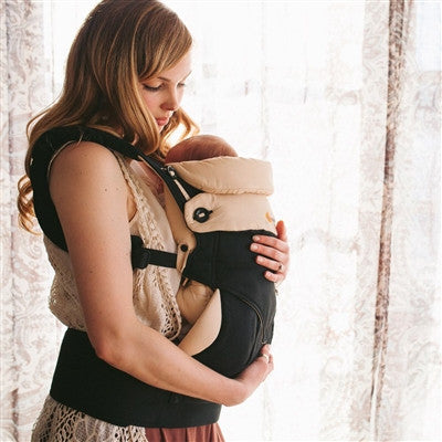 *Registry Fave* Ergo 360 Baby Carrier With Infant Insert - Bundle of Joy - Black & Camel